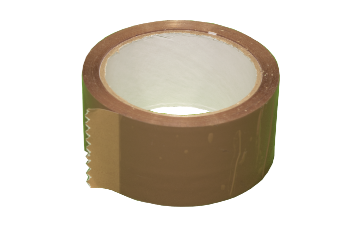 "2"" Brown Acrylic Tape"